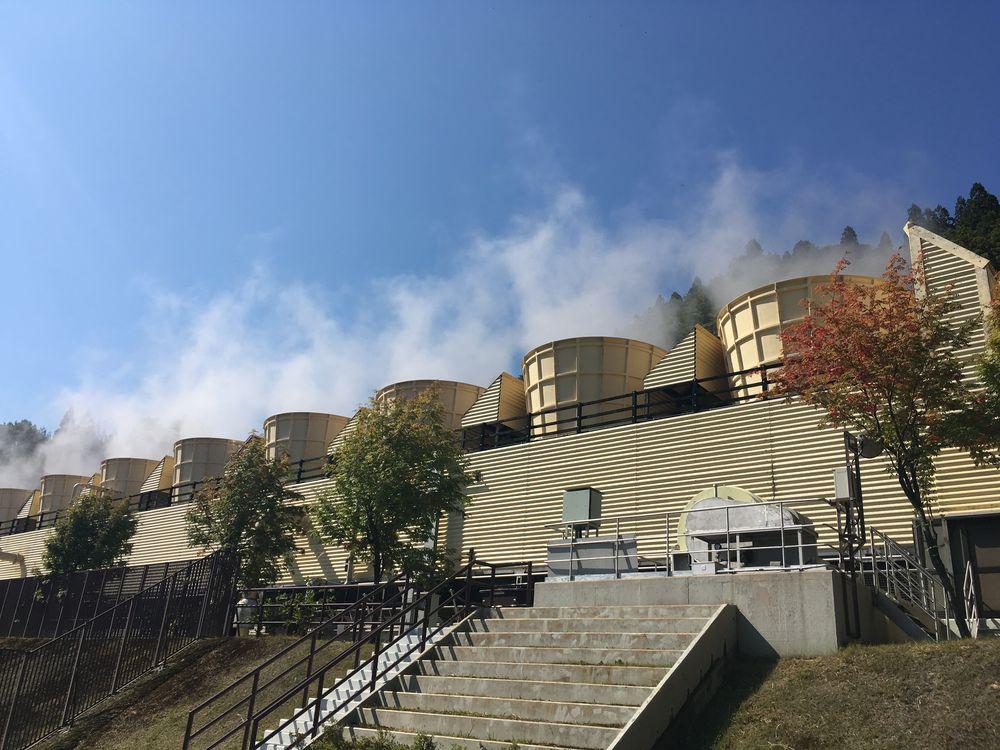 上の岱(うえのたい)地熱発電所(秋田県湯沢市)
